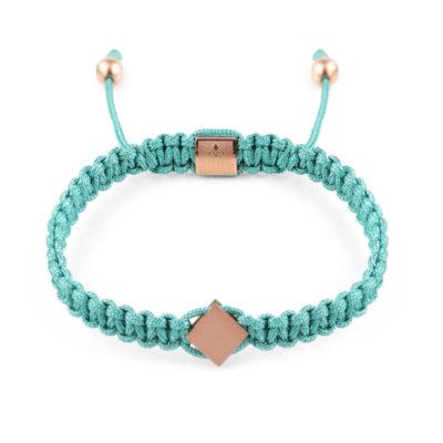Cattaro - Rope Turquoise Armband - Unisex